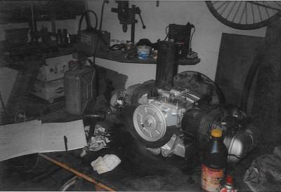 moteur en cours
