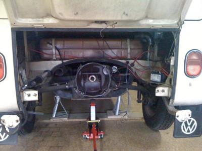 boite de vitesse à réducteurs démontée