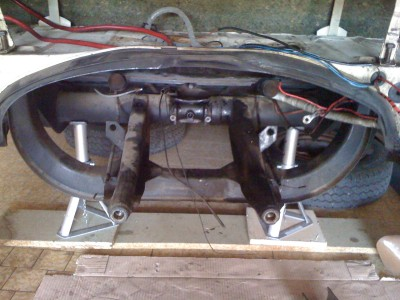 cornes de chassis combi split vw