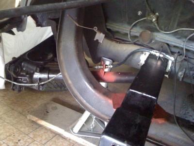 nouvel emplacement des flexible et tuyau