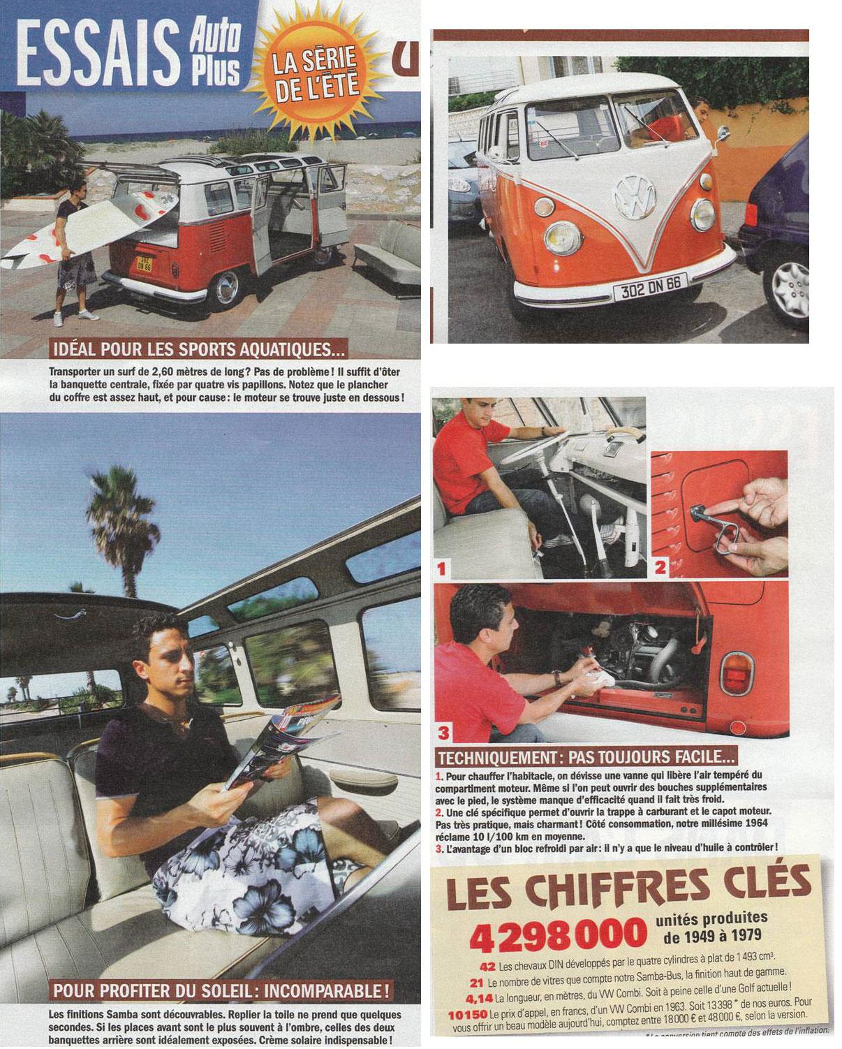 Article autoplus Combi VW