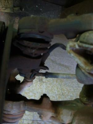 Soufflet de rotule de suspension supérieur
