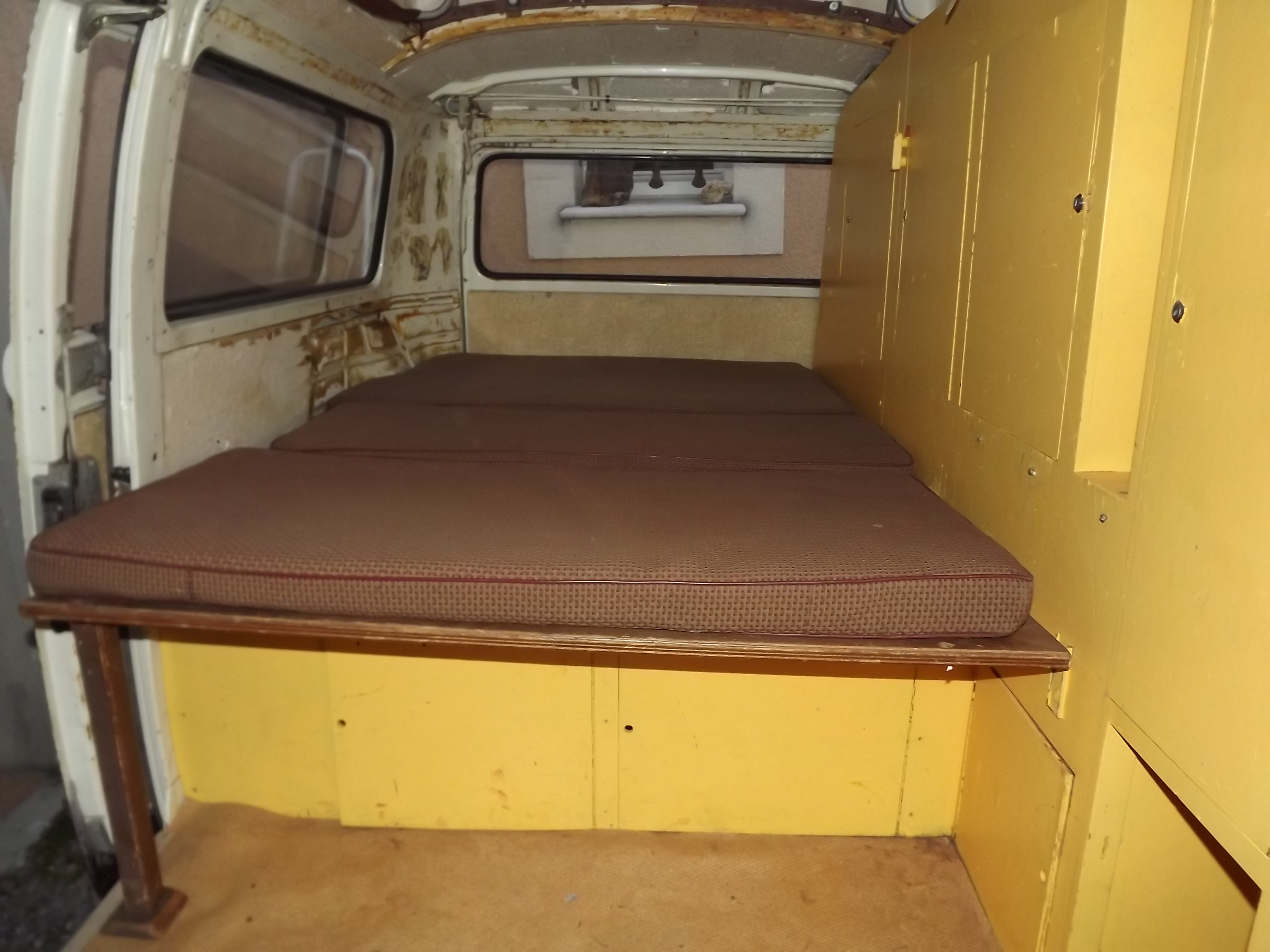 am nagement combi flat4me mes vw aircooled cox combi. Black Bedroom Furniture Sets. Home Design Ideas