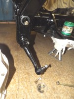 bras de suspension vw cox 1