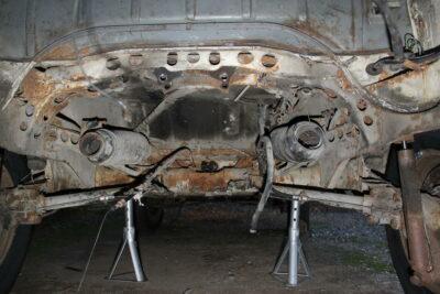 chassis combi Baywindow T2ab