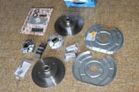 kit frein a disque avant vw cox 1303