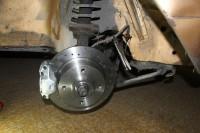 montage à blanc frein à disque