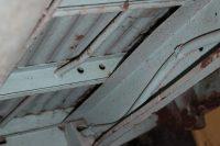 gaine acier cable frein à main-tordue
