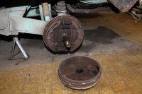 tambour de frein démonté