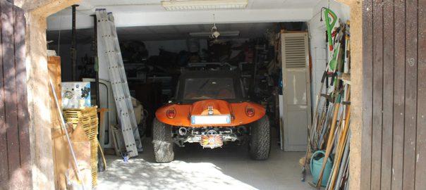 premier vehicule dans nouveau garage
