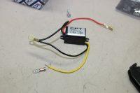 fils électriques abaiseur de tension