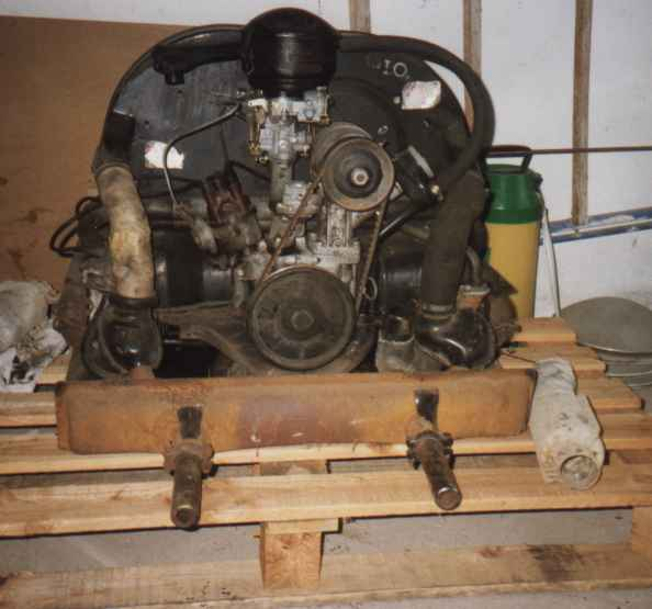 Montage moteur cox en vid o for Chambre a air tracteur occasion