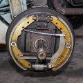 frein à tambour avec frein à main